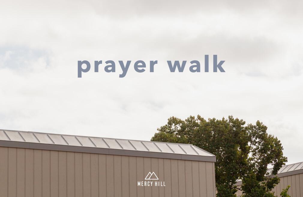 Sunday Prayer Walk